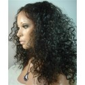 Indian remy - full lace wigs - deep curl - op voorraad