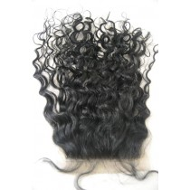 12 t/m 18 inch Indian remy  - top/lace closures - curly- haarkleur 1 - direct leverbaar