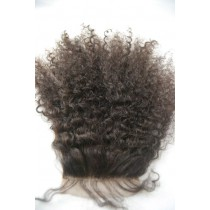 12 t/m 18 inch Indian remy  - top/lace closures - afro kinky (kinky curl) - haarkleur 2 - direct leverbaar