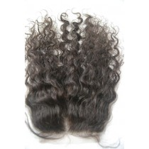 12 t/m 18 inch Indian remy  - top/lace closures - curly- haarkleur 2 - direct leverbaar