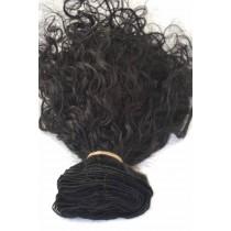 12 t/m 24 inch - Braziliaans haar - curly - haarkleur 1 - direct leverbaar