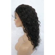 14 until 24 inch Indian remy  - front lace wigs - curly - hair color 2 - available immediatly