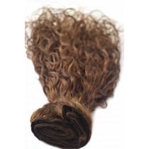 16 & 24 inch - Braziliaans haar - curly - haarkleur 4 - direct leverbaar