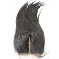 12 t/m 18 inch Peruaans virgin  - top/lace closures - straight - natuurlijke kleur - direct leverbaar