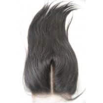 12 t/m 18 inch Peruaans virgin  - top/lace closures - straight - natuurlijke kleur - direct leverbaar
