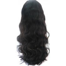 14 until 24 inch Indian remy  - front lace wigs - wavy - hair color 1B  - available immediatly
