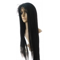 14 until 24 inch Indian remy  - front lace wigs - straight - hair color 1 - available immediatly