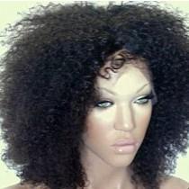 Afro kinky (Kinky curl) - front lace wigs - maatwerk