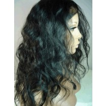 Indian remy - front lace wigs - body wave - op voorraad