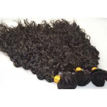 Curly - machine made weaves - custom made