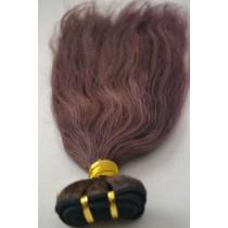 10 t/m 24 inch - Braziliaans haar - straight - haarkleur zacht paars - exclusief - op voorraad