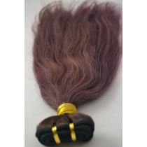 10 until 24 inch - Brazilian hair - straight - hair color soft purple - exclusive - in stock