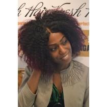 Handgemaakte pruik 14 - afro kinky (kinky curl) - exclusief - maatwerk