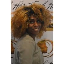 Handgemaakte pruik 8 - afro kinky (kinky curl) - exclusief - maatwerk