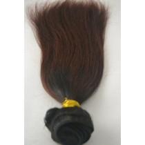 10 t/m 24 inch - Peruaans haar - straight - haarkleur kastanje bruin - exclusief - op voorraad