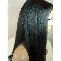 Kinky straight - full lace wigs - maatwerk