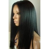 Kinky straight - front lace wigs - maatwerk