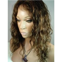 Loose curl - front lace wigs - maatwerk