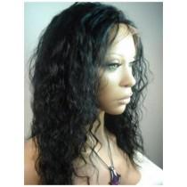 Loose curl - synthetische front lace wigs - maatwerk