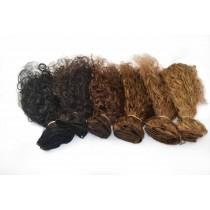 Curly - handgeknoopte weaves - maatwerk