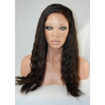 Natural wave - front lace wigs - maatwerk