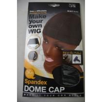 Spandex dome cap