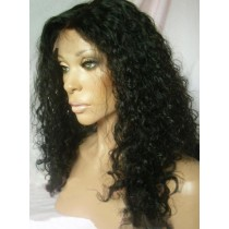 Indian remy - full lace wigs - water wave - op voorraad