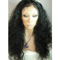 Indian remy - full lace wigs - loose curl - op voorraad